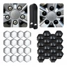 20Pcs 17mm/19mm Car Wheel Nut Caps Auto Hub Screw Cover Bolt Rims Exterior