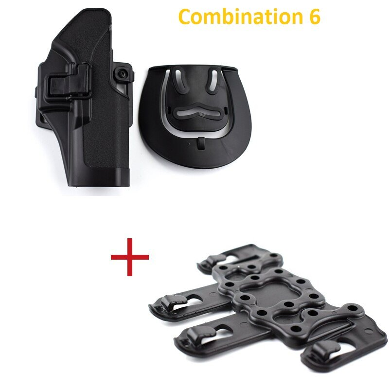 Tactical Glock 17 19 22 23 31 32 Airsoft Pistol Belt Holster Glock Pistol