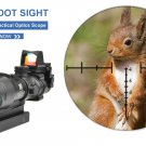 Hot 20mm Rail Riflescope Hunting Optics Holographic Red Dot Sight Reflex 4