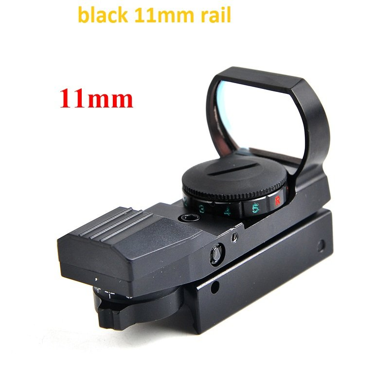 Hot 20mm Rail Riflescope Hunting Optics Holographic Red Dot Sight Reflex 4