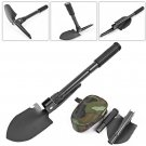 Multi-function Military Portable Folding Camping Shovel Survival Spade Trowel