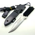 Fixed Blade Knife Hunting Stainless Steel Army Tactical Knives Outdoor Camping