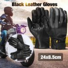 Retro Leather Motorcycle Gloves Moto Waterproof Gloves Motorcycle Protective
