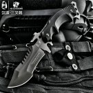 HX OUTDOORS Survival Knife Army Hunting 58hrc Hardness Straight Knives