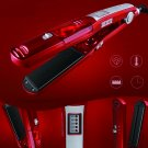 Dry/Wet Hair Straightener Steam Health Care Professional Electric Ceramic Vapor