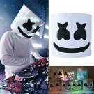 DJ LED Luminous Masks Helmet Mask Cosplay Prop DJ Halloween Party Latex Masks