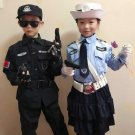 Halloween Carnival Party Kids Policemen Special Force Cosplay Costumes Cop