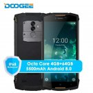 IP68 DOOGEE S55 4G LTE Smartphone 5.5 Inch 18:9 Android 8.0 4G + 64GB MTK6750T