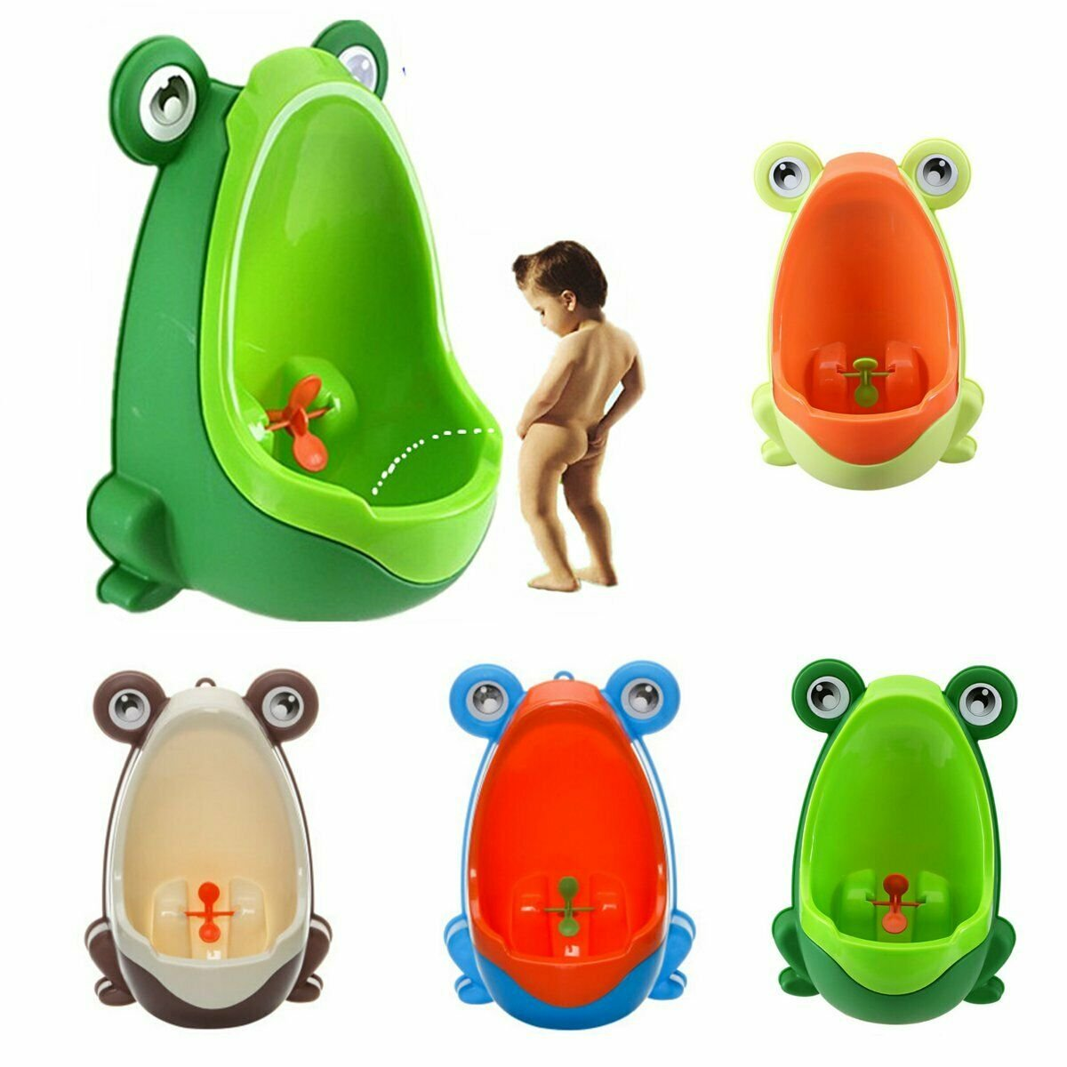 bestforyou11 Fashion Frog Boy Baby Toilet Training Children Kids Potty Urinal Pee Trainer