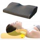 Memory Foam Pillow Cervical Spondylosis Neck Pain Relief Slow Rebound Massager