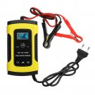 Enusic™ 12V 6A Pulse Repair LCD Battery Charger For Car Motorcycle Lead Acid