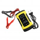 bestforyou11 12V 6A Pulse Repair LCD Battery Charger For Car Motorcycle Lead Acid