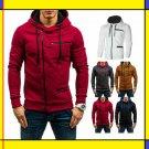 bestforyou11 mens warm hoodie hooded sweatshirt coat jacket outwear jumper winter sweater
