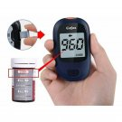 bestforyou11 Glucometer Blood Sugar Monitoring Device Diabetic Test Glucose with 50pcs test
