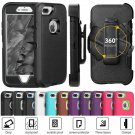 Shockproof Cover Case For iPhone 6 6s 7 8 Plus Protection Phone Cases-Belt Clip