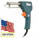 220V 60W Automatic Send Tin Soldering Iron Gun Solder Stand -  From usa stock