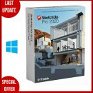 SketchUp Pro 2020 for Windows️Full Version️Life Time️multilingual️