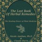 Bestforyou11 the lost book of herbal remedies claude davis Ebook PDF only + 4 free ebooks