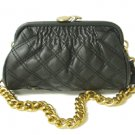 Fashion Quilted Kissback Handbag