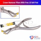 SD0010 Professional Orthodontics Crown Remover Pliers With Free 10 Soft Pads CE Smile