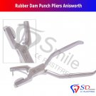SD0017 Rubber Dam Punch Pliers Anisworth Dental Lab Tool Orthodontic Instrument CE New