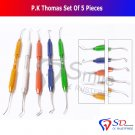 SD0080 Smile P.K Thomas Set of 5 Dental Cera Instrumentos Kieferorthopädische CE NEW