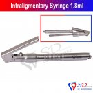 SD0085 Dental Syringe For Intraligamental Intraligament Syringe 1.8ML Angled Smile New