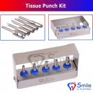 SD0328 Dental Implant Tissue Punch Kit of 5 Pieces Surgical Tools Kit Smile Dentale UK