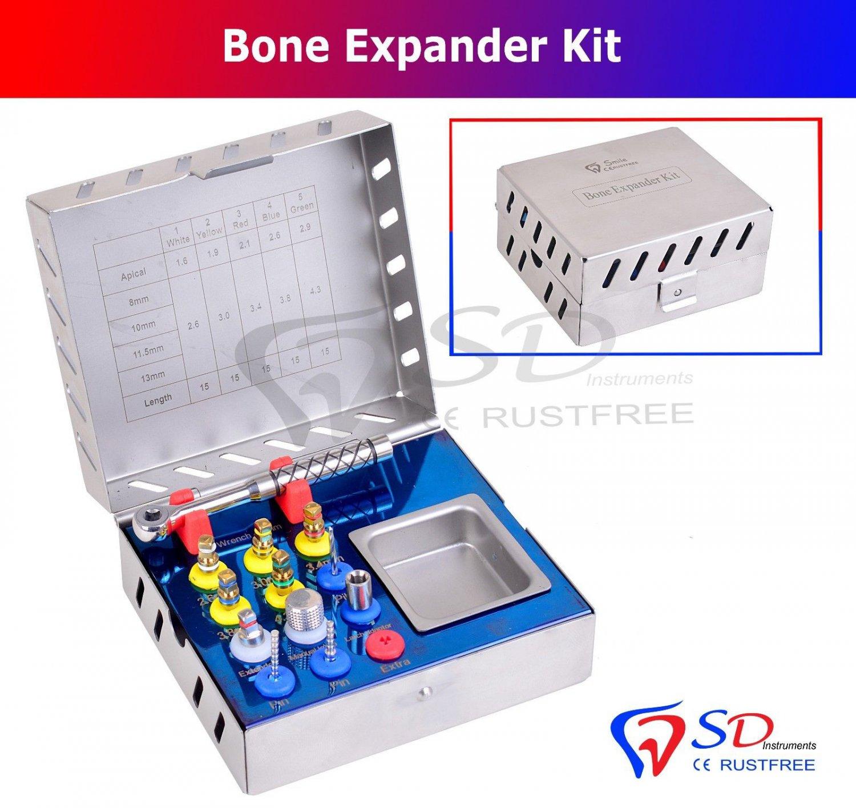 SD0290 Dental Bone Expander Kit Sinus Lift 12 Pcs Implant Surgical Instruments NEW