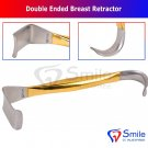 1003 Double Ended Breast Retractor 9-1-2-034-24cm Blades7-8'' x 1-1-2'' Plastic Surg