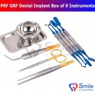 SD0359 PRF GRF Dental Implant Box Set Of 9 Instruments Surgical Surgery Tools Kit CE UK