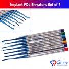 SD0352 7X Dental Implant Proximators PDL Luxating Elevators Surgery Dental Instruments