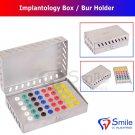 SD0320 .40 Silicone Pads Dental Implantology Box - Burs Holder Endo Box Dental Implants