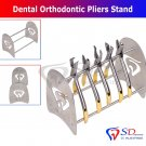 SD0258 Dental Orthodontic Pliers Stand Cutter Forceps Holder Rack Stainless Steel 1PCS