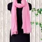 Cashmere Wool Stole Prism Pink Color