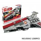 Lepin 05042 Star Wars The Republic Fighting Cruiser 1200pcs - Free Shipping