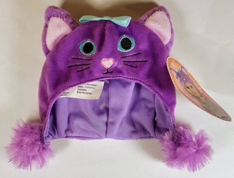 My Life As All American Girl Doll Purple Cat Hat, Kitten ** NEW **
