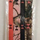Under Armour Headbands 4 pack, Real Tree camouflage, Pink, Black solid  *NEW*