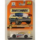 Matchbox 1998 #65 Opel Calibra DTM, World Cup Graphics, White, Motor Sports