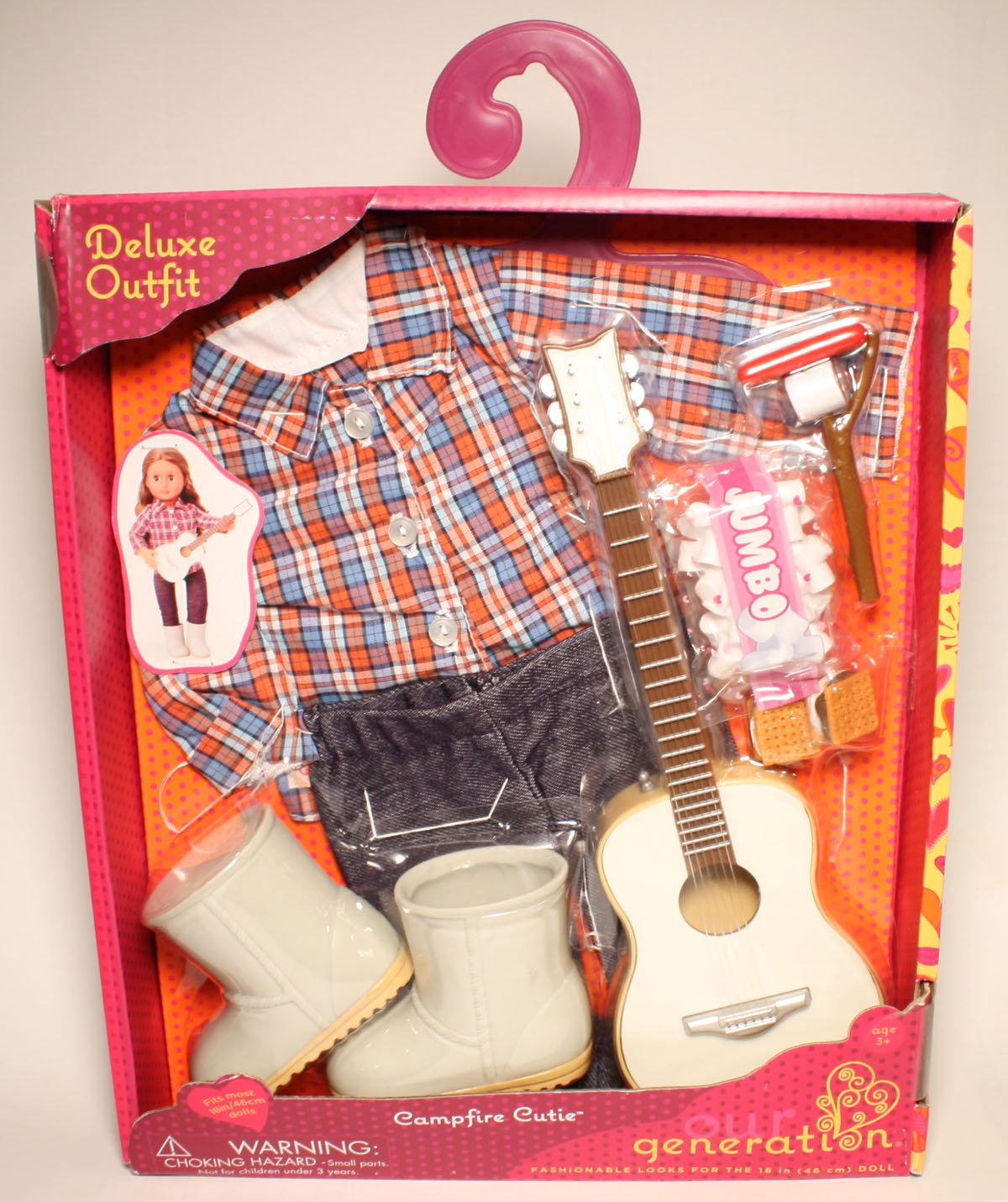 "Our Generation Campfire Cutie Set, Compatible with American Girl, My Life As and More 18"" Dolls"