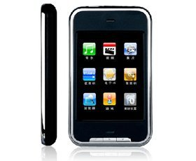 TouchScreen MP3 Player 4 GB