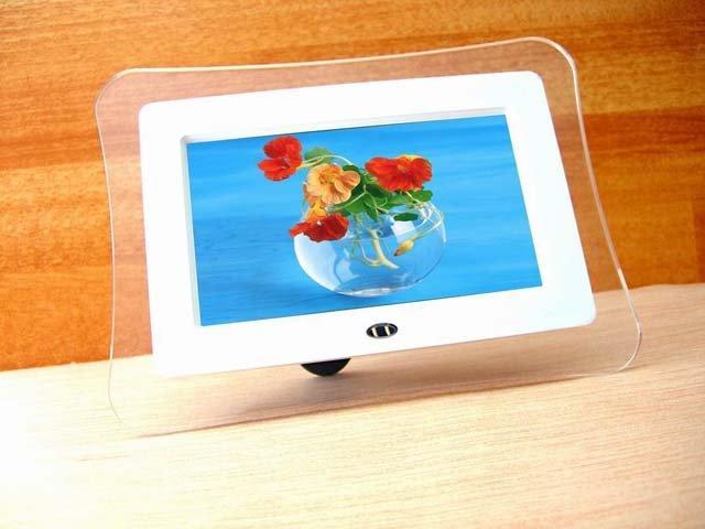 inch Digital Photo Frame & Video Player