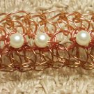 Tri-Colored Woven Wire Bracelet