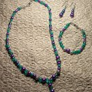 Bright Purple and Teal Set