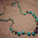 Floating Turquoise Necklace