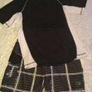 Boy Size 14/16 Lot of 2 swimwear Op top & O'Rageous gray board short set outfit