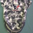 Boys Size 0/3 months NFL Team Apparel Houston Texans football one piece outfit