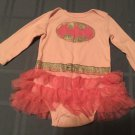 Girls Batgirl costume dress  Batman DC Comics 9 mo. pink glitter tutu