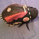 Youth Wilson glove softball leather pink black A0442   11 inches Fits right hand