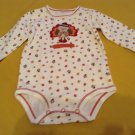 Size 6 mo. Carters  Turkey outfit 1 piece long sleeve set Girls Boys